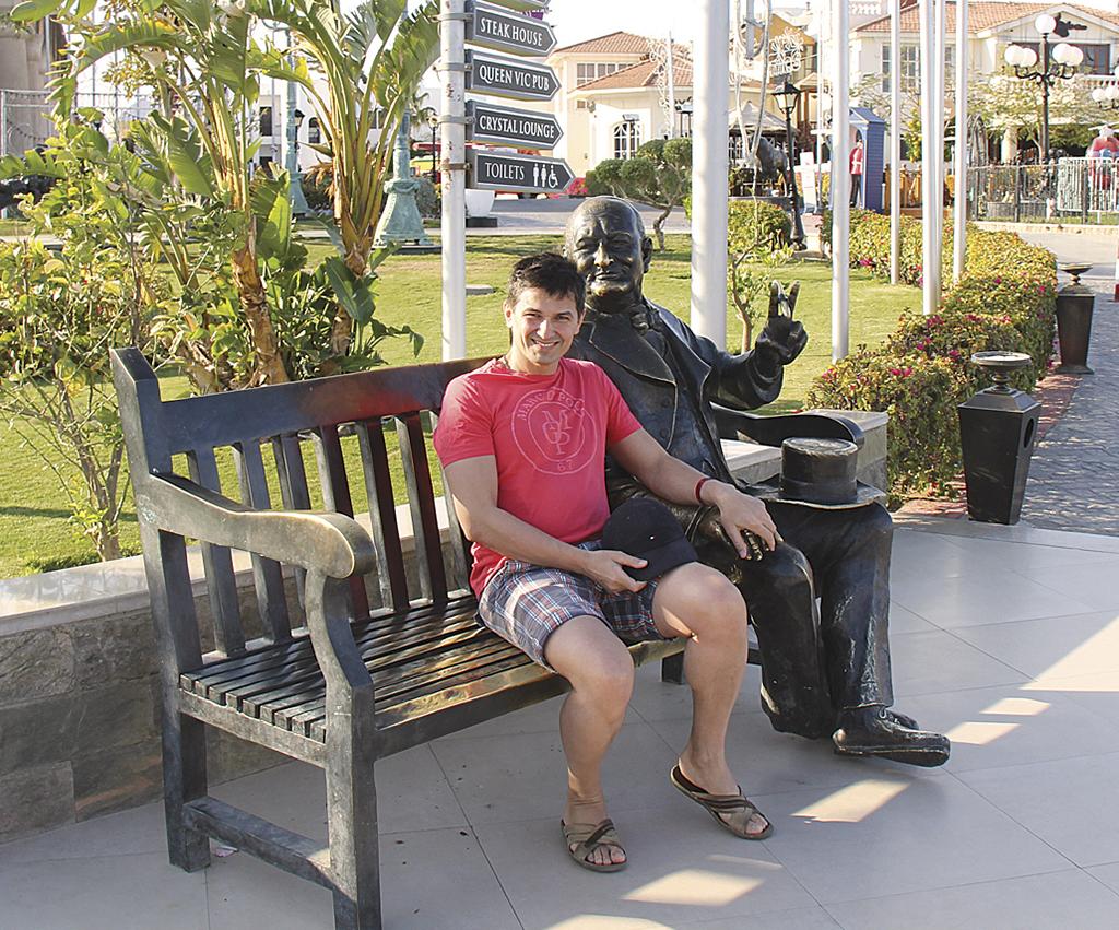 Скульптура Вінстона Черчілля в Сохо