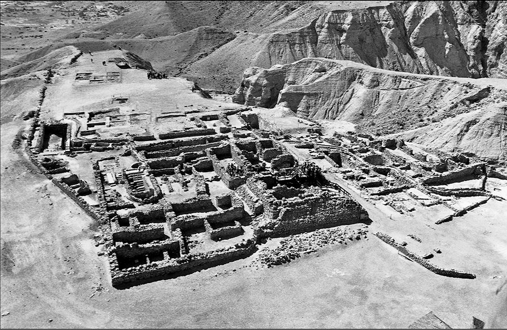 Аерофотозйомка кумранських розкопок