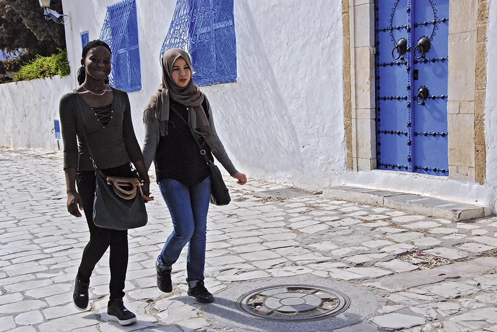 Біло-синє місто Сіді-Бу-Саїд називають «містом закоханих»