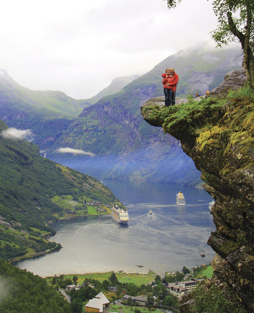 Ігор та Валя у Норвегії