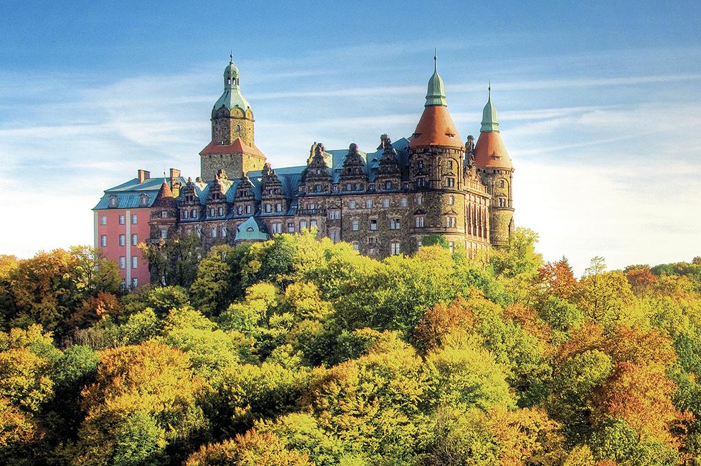 «Ксьонж» – найбільший замок у Сілезії