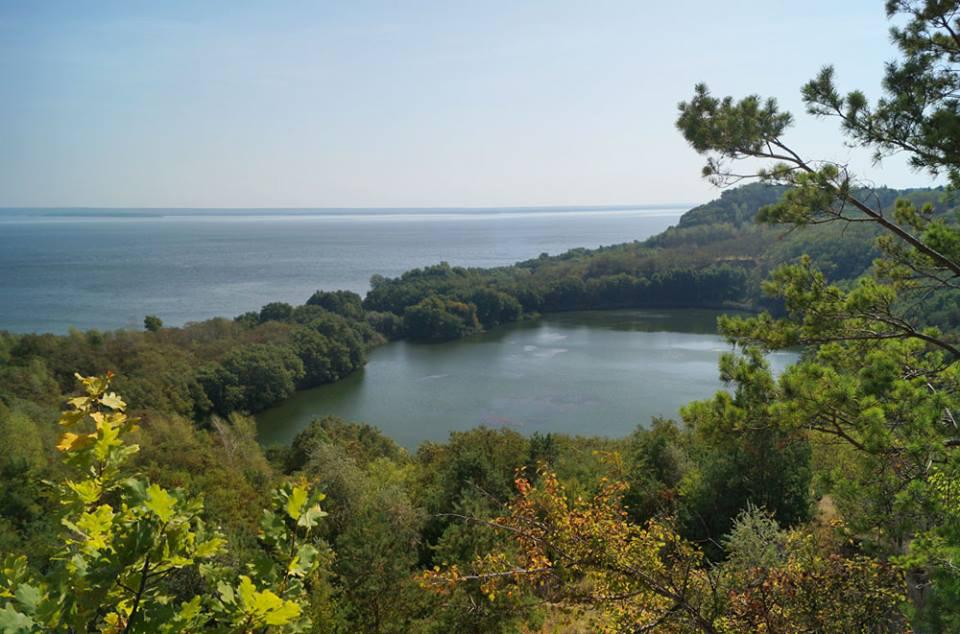 Озеро в Бучаку виникло після початку будівництва гідроакумулюючої станці