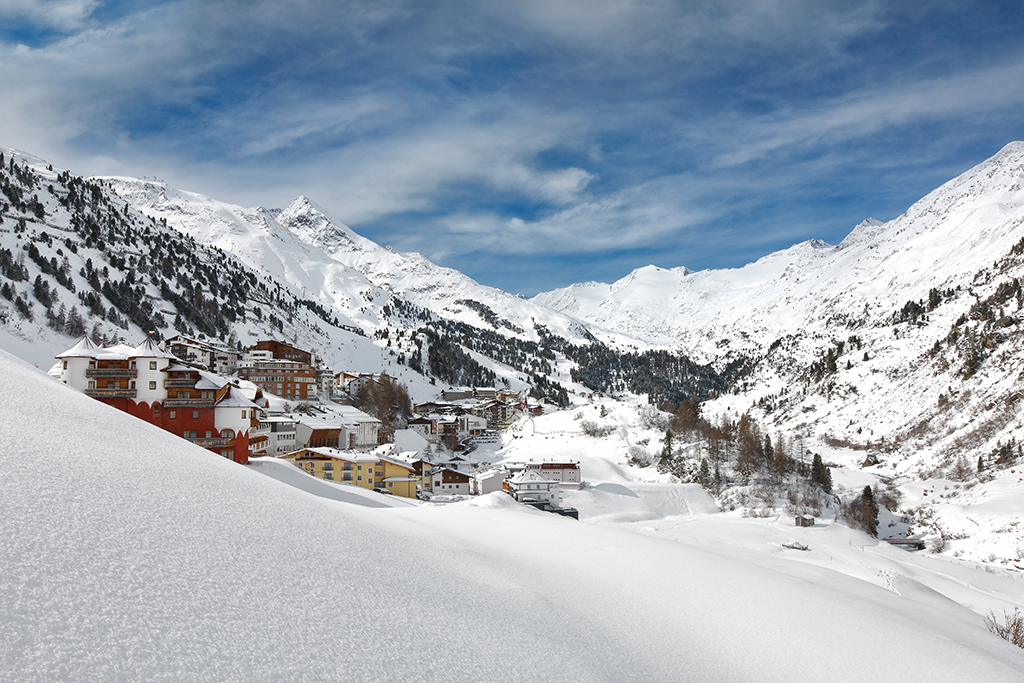 Obergurgl, Winter, Panorama,