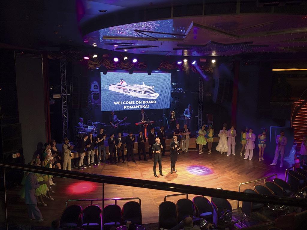 Презентація рейсу Рига – Стокгольм на борту «Романтики»