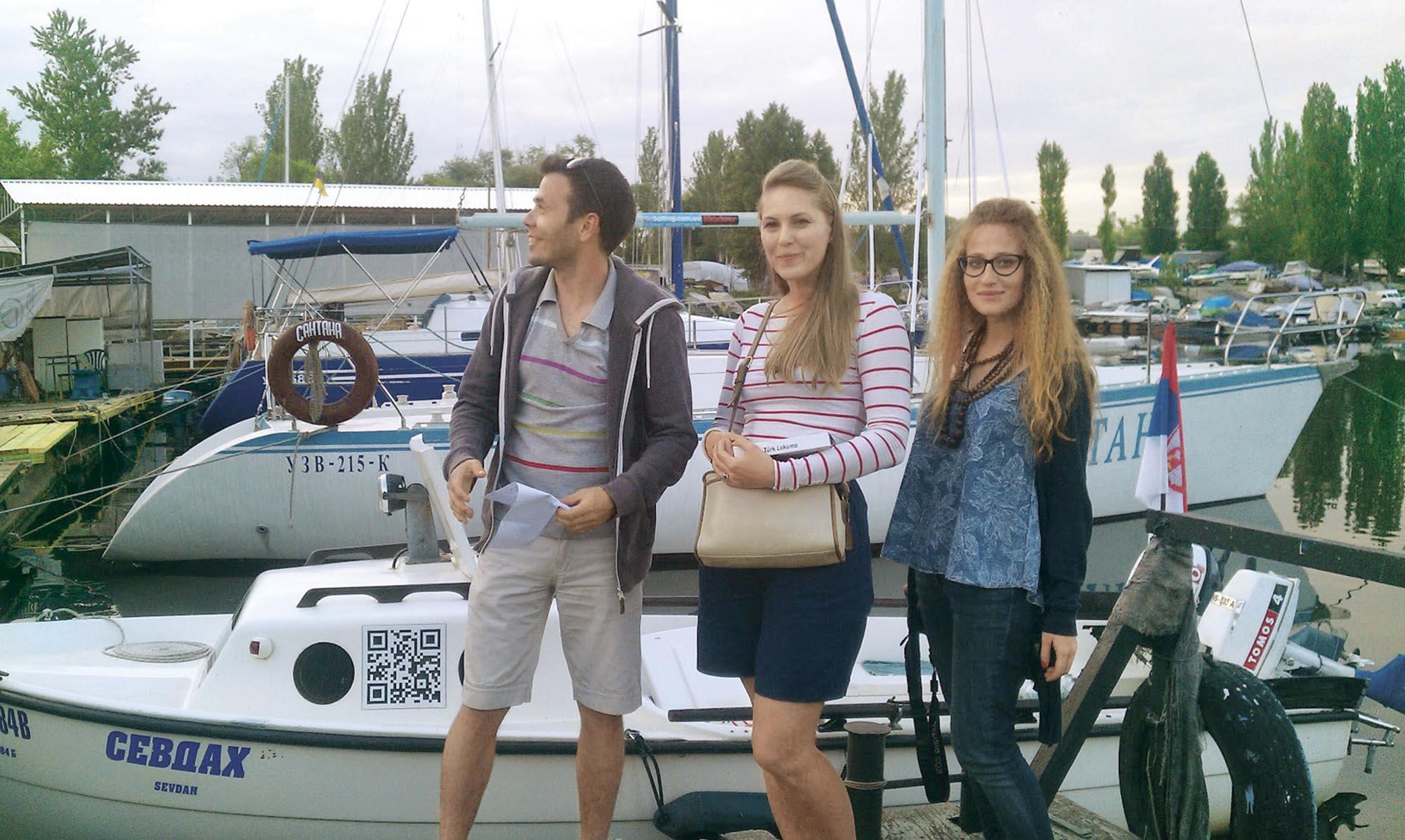 У запорізькому яхт-клубі