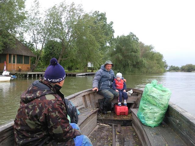 Традиційний дунайський човен