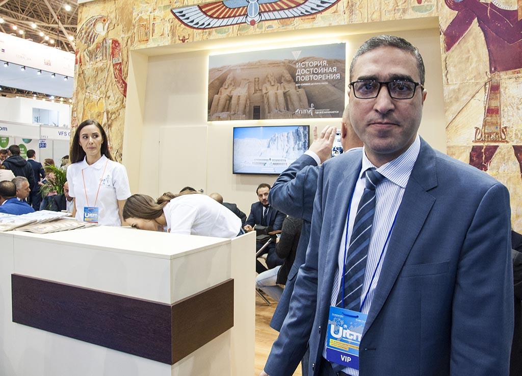 Мухамед Десоку, директор туристичного офісу Єгипту в Празі