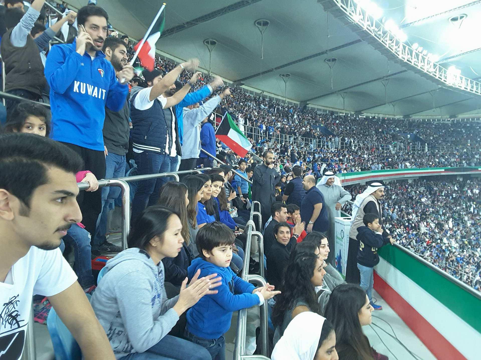Футбол у Кувейті дуже люблять і поважають