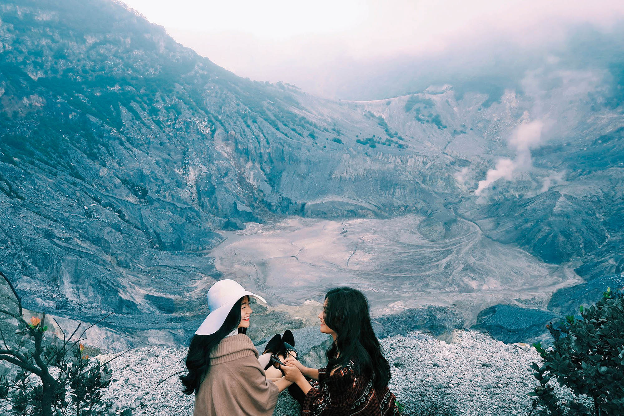 Вулканічний кратер біля міста Бандунг